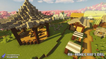 Скачать Spring Breeze Village для Minecraft