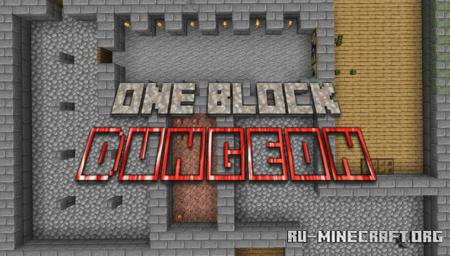 Скачать One Block Dungeon для Minecraft