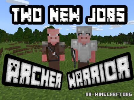 Скачать Pig Villagers для Minecraft PE 1.12
