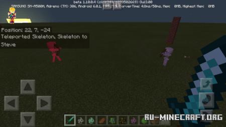 Скачать Teams (Team With Mobs and Players) для Minecraft PE 1.12