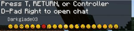 Скачать Emoji Chat Pack для Minecraft PE 1.12