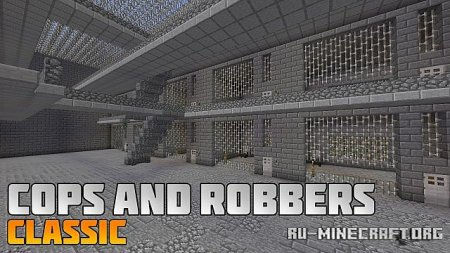 Скачать Cops and Robbers: Classic для Minecraft