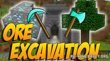 Скачать Ore Excavation для Minecraft 1.14.4