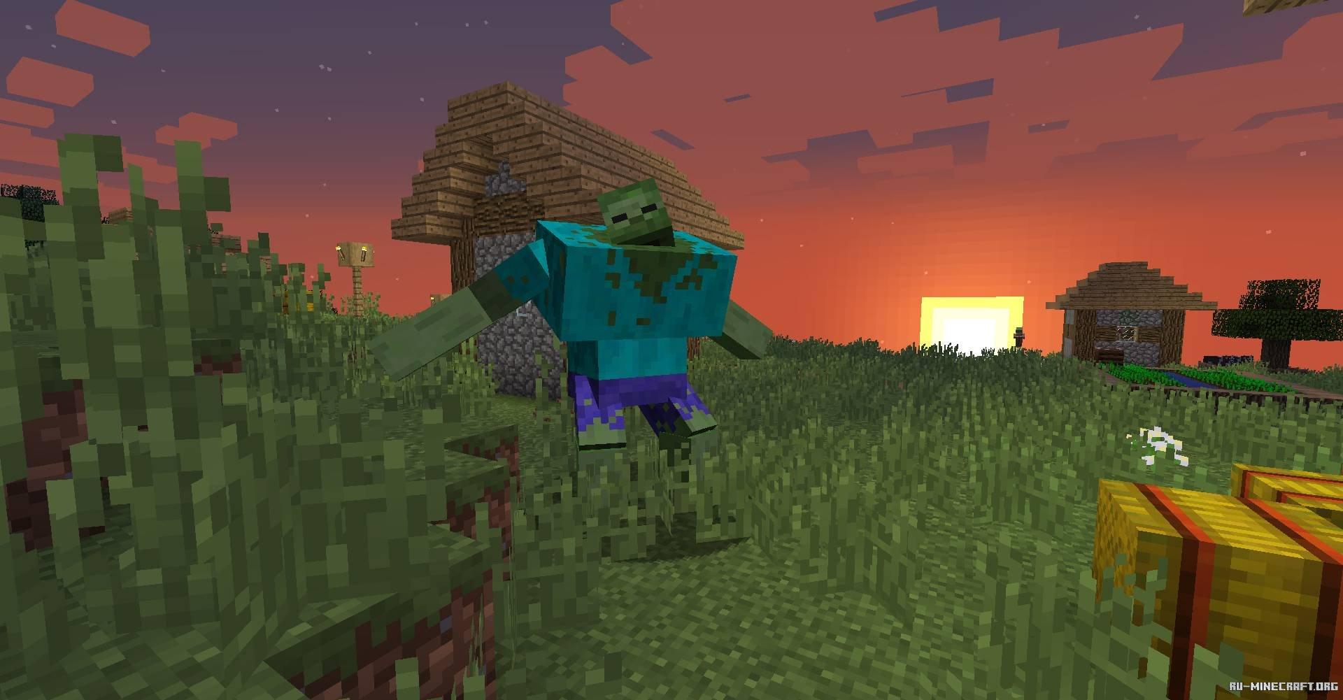 Скачать Mutant Beasts для Minecraft 1.14.4