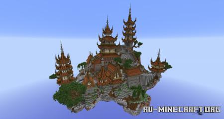 Скачать Hikaru - Oriental Hub для Minecraft