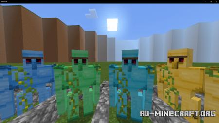 Скачать GolemsPLUS для Minecraft PE 1.13