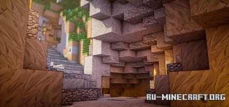 Скачать Minelands [128x] для Minecraft 1.14