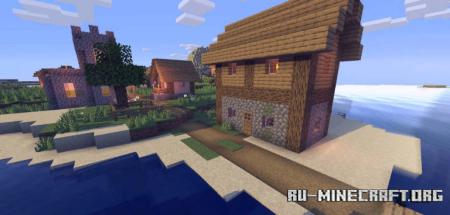 Скачать LS Low Shader Plus для Minecraft 1.14.4