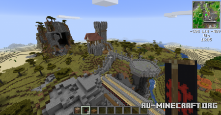 Скачать Mini Castle by Vmeme666 для Minecraft