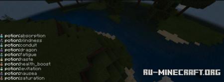 Скачать Potions Plus для Minecraft PE 1.12