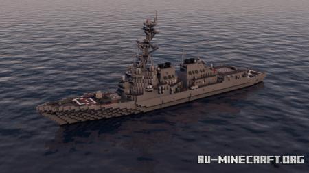 Скачать USS Howard DDG-83 для Minecraft