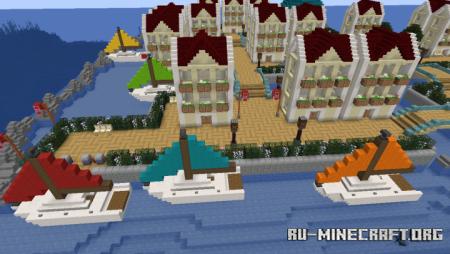 Скачать Venesi City - Pokemon Uranium для Minecraft