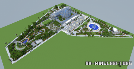 Скачать United States Botanic Garden для Minecraft