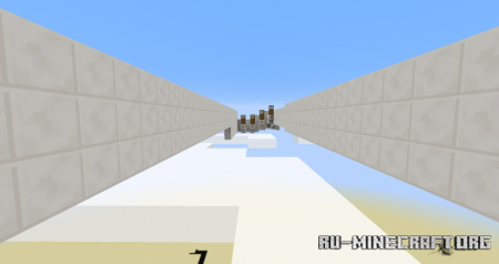 Скачать Test your Bow Skill by Damian для Minecraft