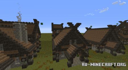 Скачать Norse Cottage Pack для Minecraft