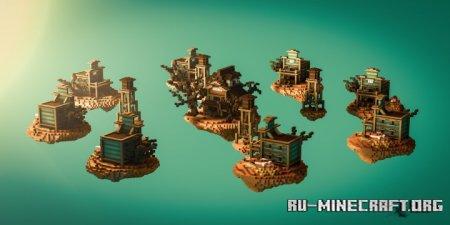 Скачать The Wild West - Skywars для Minecraft