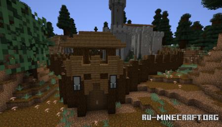 Скачать Pillager Castle для Minecraft