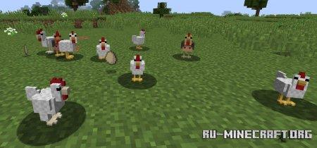 Скачать Genetic Animals для Minecraft 1.14.4