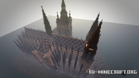 Скачать Prague Vitus Cathedral для Minecraft