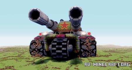 Скачать Apocalypse Tank - Red Alert 3 для Minecraft