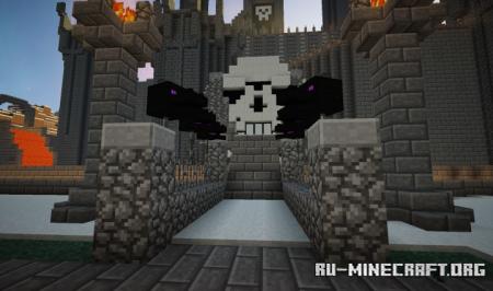 Скачать Skull Entrance для Minecraft