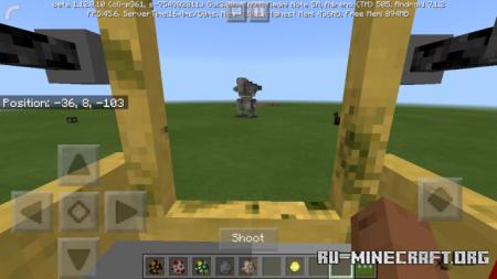Скачать War Robots для Minecraft PE 1.13