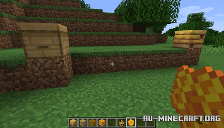 Пчелиные соты в Minecraft 1.15