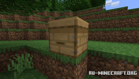 Пчелиный улей в Minecraft 1.15