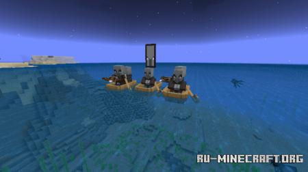 Скачать More Mobs для Minecraft PE 1.13