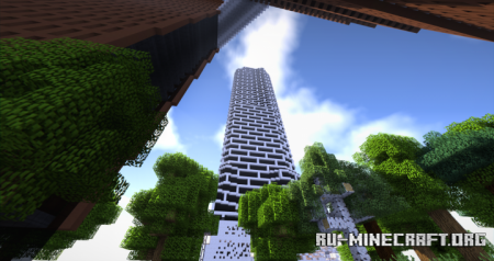 Скачать Mosaic Tower для Minecraft