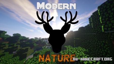 Скачать Modern Nature для Minecraft 1.12.2