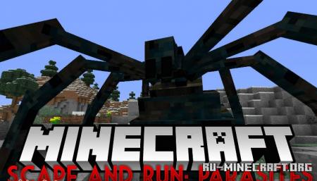 Скачать Scape and Run: Parasites для Minecraft 1.12.2