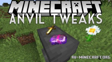 Скачать Anvil Tweaks для Minecraft 1.14.4