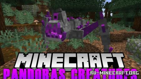 Скачать Pandoras Creatures для Minecraft 1.14.4