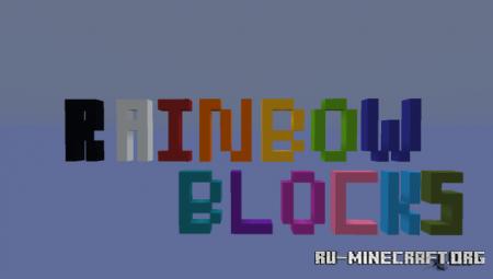 Скачать Rainbow Blocks для Minecraft