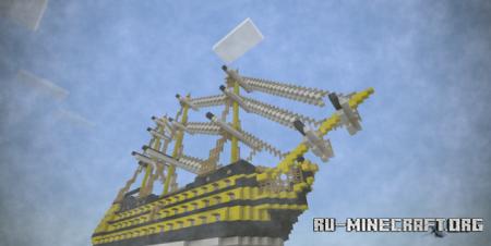 Скачать HMS Victory для Minecraft