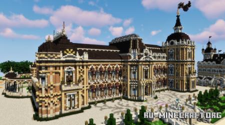Скачать Chateau du Bosendorff для Minecraft