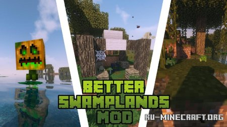 Скачать Traitor's Better Swamplands для Minecraft 1.14.4