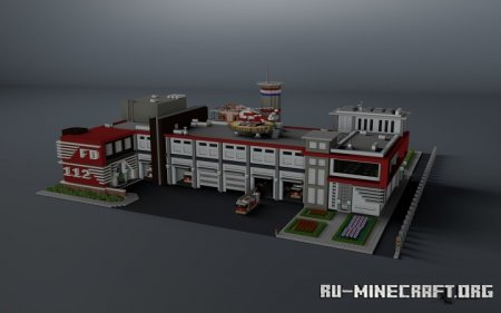 Скачать Modern Fire Department для Minecraft