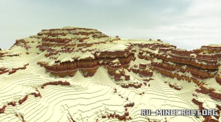 Скачать Canyon Terrain для Minecraft