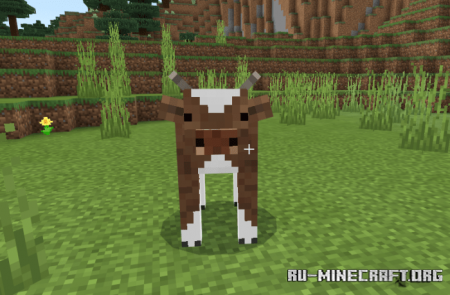 Скачать Cuter Vanilla Cows для Minecraft PE 1.13