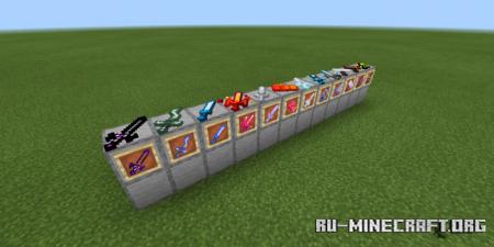 Скачать Elemental Weapons для Minecraft PE 1.14