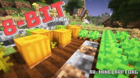 Скачать 8BitCraft 2 [8x] для Minecraft 1.14