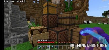 Скачать Dexy Vanilla HD [64x64] для Minecraft PE 1.14
