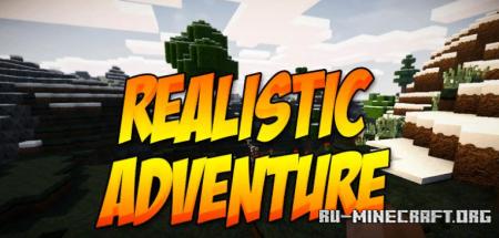 Скачать Realistic Adventure [64x] для Minecraft 1.13
