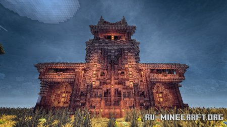 Скачать Fantasy Medieval Town by Phillersy для Minecraft
