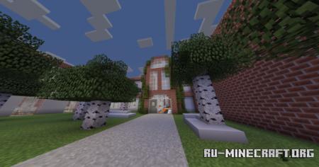 Скачать Riverview High School для Minecraft