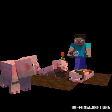 Скачать Earth Mobs для Minecraft 1.14.4