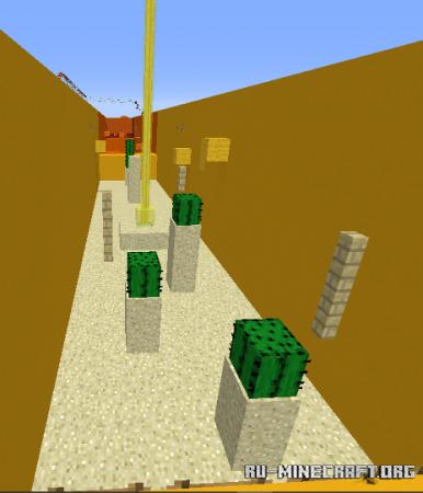 Скачать Simple Rainbow Parkour для Minecraft