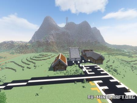 Скачать Mountain Resort для Minecraft